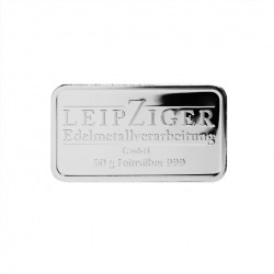 50g Silberbarren LEV