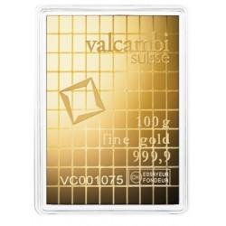 100 g Gold Tafelbarren Combibarren