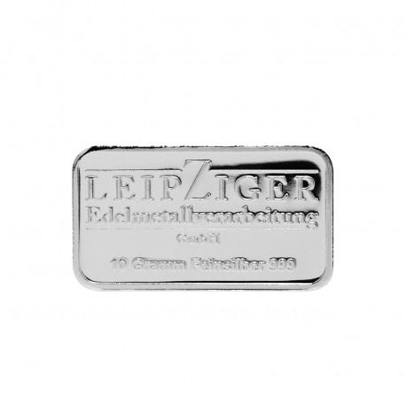 10g Silberbarren LEV