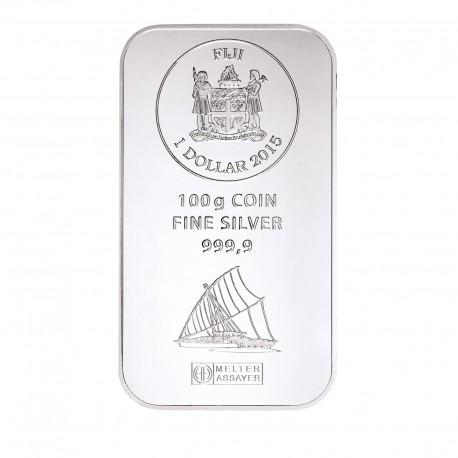 100g Silber Fiji Münzbarren (Argor Heraeus)