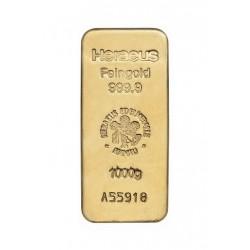 1kg Goldbarren Heraeus