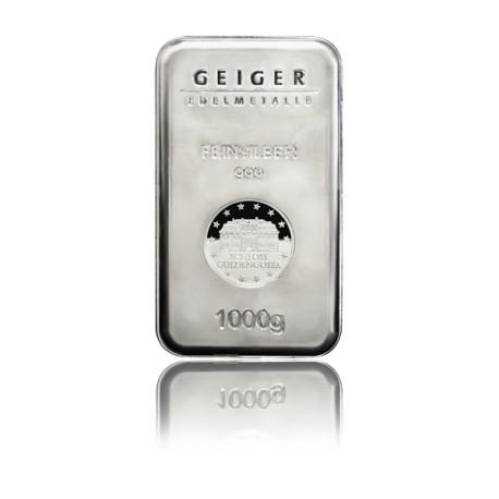 1 kg Silberbarren Security Line LEV