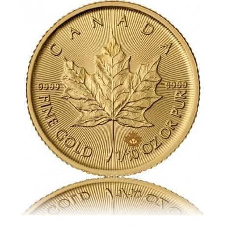 1/10 Unze Gold Maple Leaf 2019