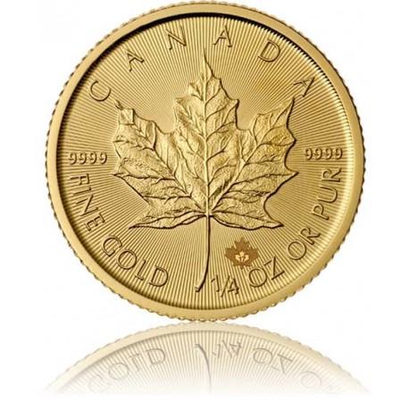 1/4 Unze Gold Maple Leaf 2019