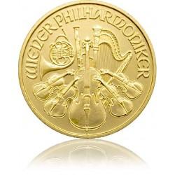 1/10 Unze Gold Wiener Philharmoniker 2018