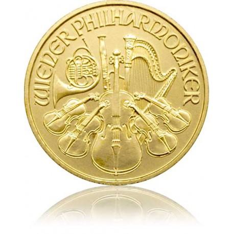 1/4 Unze Gold Wiener Philharmoniker 2018