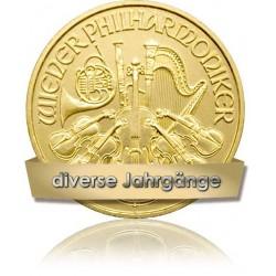 1/4 Unze Gold Wiener Philharmoniker