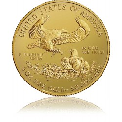 1 Unze Gold American Eagle 2017