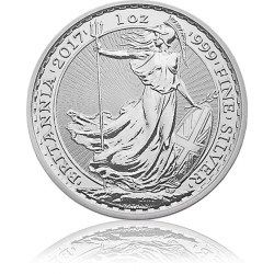 1 Unze Silber Britannia 2017