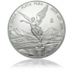 1 Unze Silber Mexiko Libertad 2019