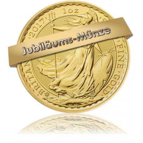 1 Unze Gold Britannia 2017 - 30 Jahre Jubliäum