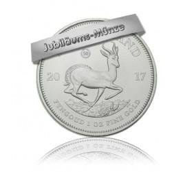1 Unze Silber Krügerrand 50 Jahre Jubiläum