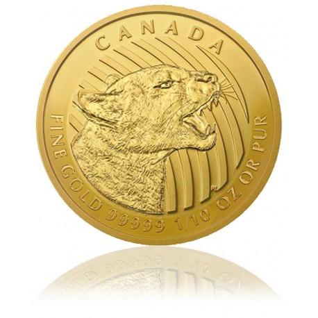 1/10 Unze Gold Puma - Call of the Wild 2016