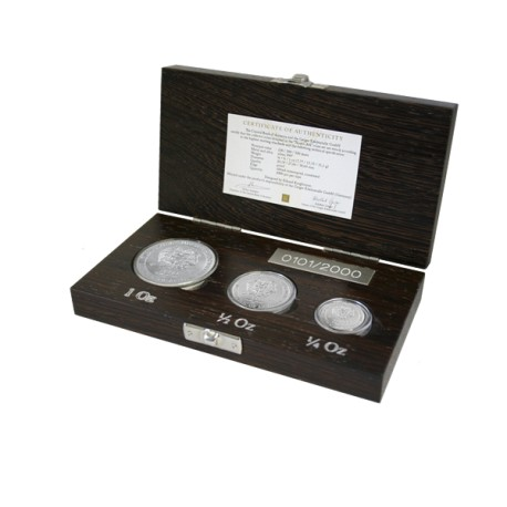 Arche Noah Proof Set Silber 2012