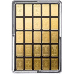 25 x 1 Gramm Goldbarren UnityBox (H&M)