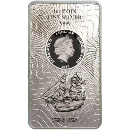 1 Unze Silber Münzbarren Cook Island