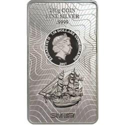 250 Gramm Silber Münzbarren Cook Island 2017