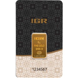 5 Gramm Goldbarren (IGR Inc.)