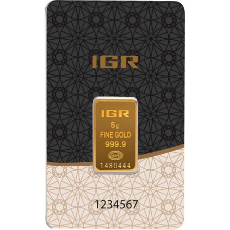 5 Gramm Goldbarren (IGR Inc.)