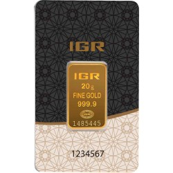 20 Gramm Goldbarren (IGR Inc.)