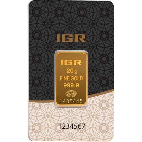 20 Gramm Goldbarren (IGR Inc.)