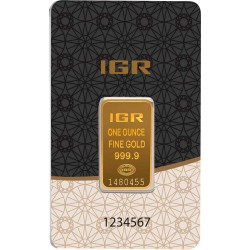 1 Unze Goldbarren (IGR Inc.)