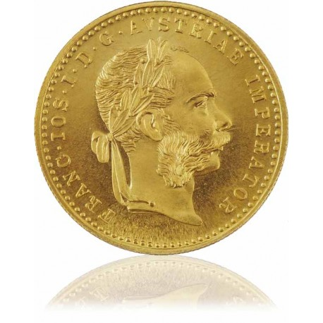 1 Dukat Goldmünze Österreich