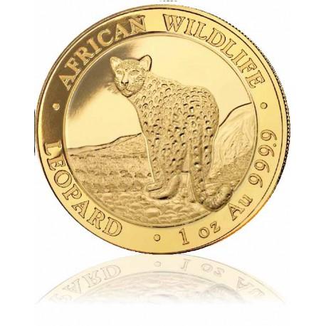 1 Unze Gold Somalia Leopoard 2018