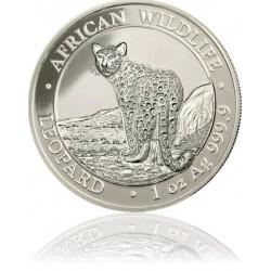 1 Unze Silber Somalia Leopoard 2018