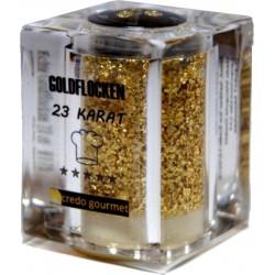 Goldstreuer - Essbares Blattgold - 23 Karat