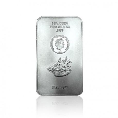 100 Gramm Silber Münzbarren (Cook Islands)