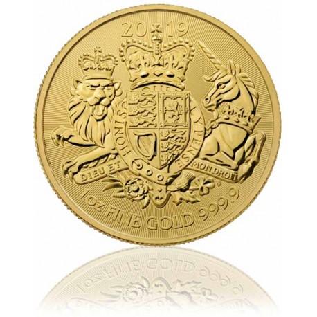 1 Unze Gold Royal Arms 2019
