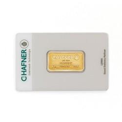 5 Gramm Goldbarren (C. Hafner)