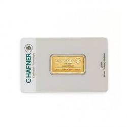 10 Gramm Goldbarren (C. Hafner)