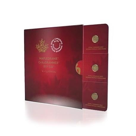 Gold Maplegram 2017 (8 x 1g Münzen)