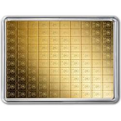 100 x 1 Gramm Gold Combibarren (H&M)