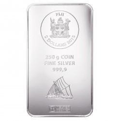 250 Gramm Silber Fiji Münzbarren (Argor Heraeus)