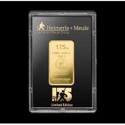 17,5 Gramm JUBILÄUM Goldbarren geprägt (H&M)