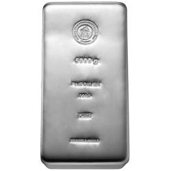 5 Kilogramm Silberbarren gegossen (H&M)