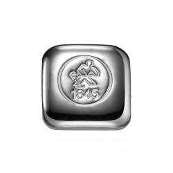 50 Gramm Silberbarren gegossen (H&M)