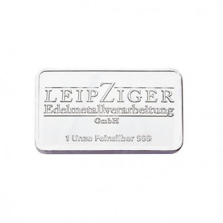 1 Unze Silberbarren (LEV)