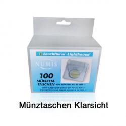 100er Packung Münztaschen für je 1 Unzen-Münzen