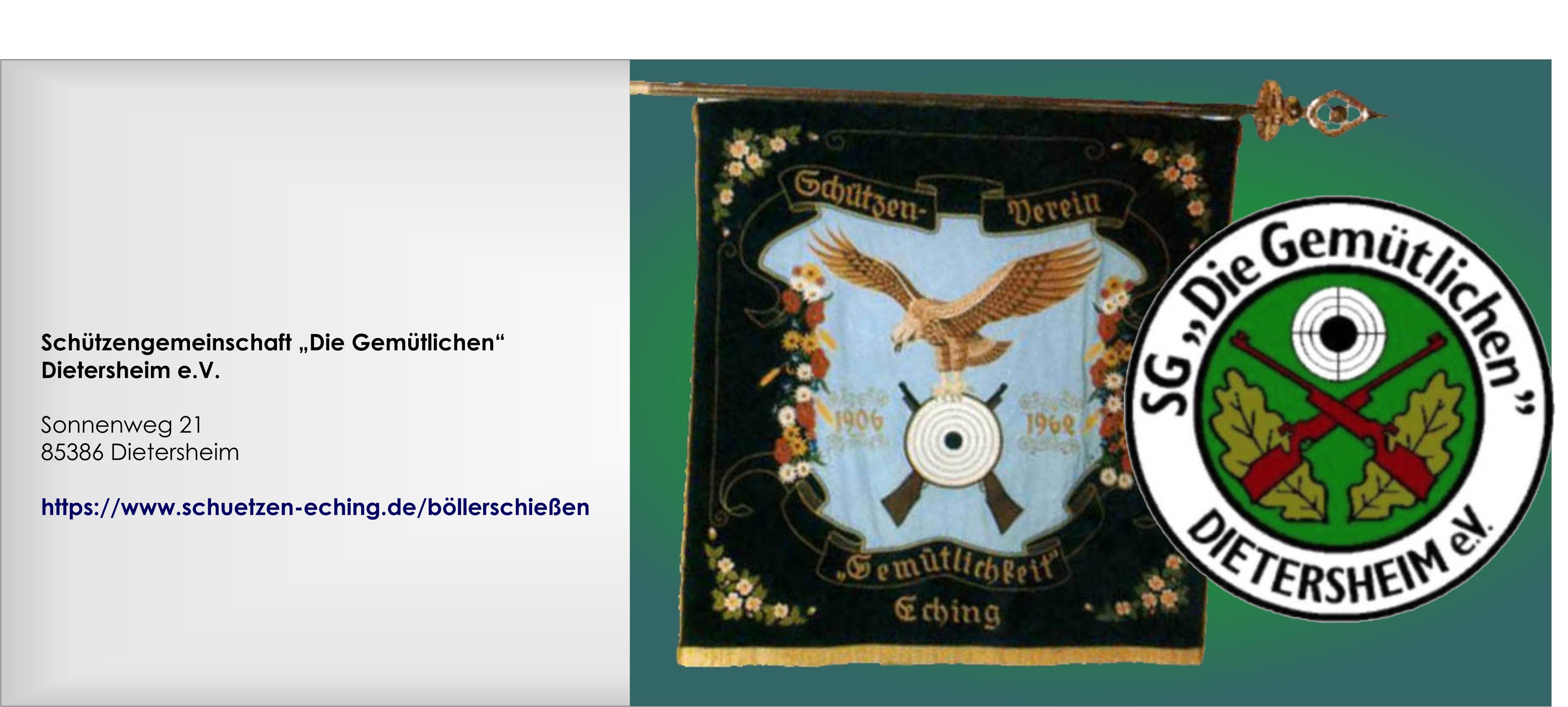 Schuetzenverein Dietersheim, Victoreanum-Sponsoring, Soziales Engagement