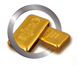Alt-Text Bild: Gold mit Bitcoin kaufen bei VICTOREANUM.com