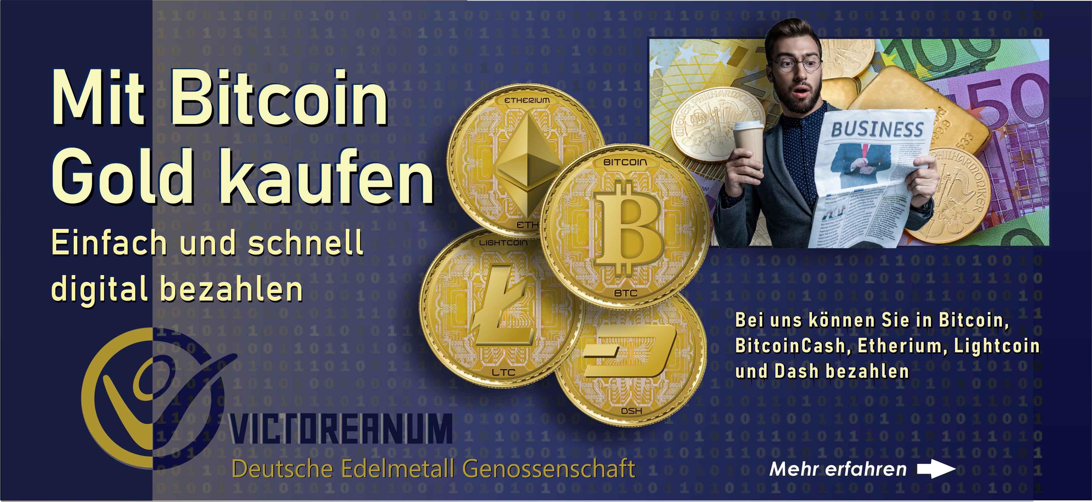 Mit Kryptos bezahlen. Gold und Silber mit Kryptos bezahlen Bitcoin, BitcoinCash, Etherium, Ligthcoin, Zcash